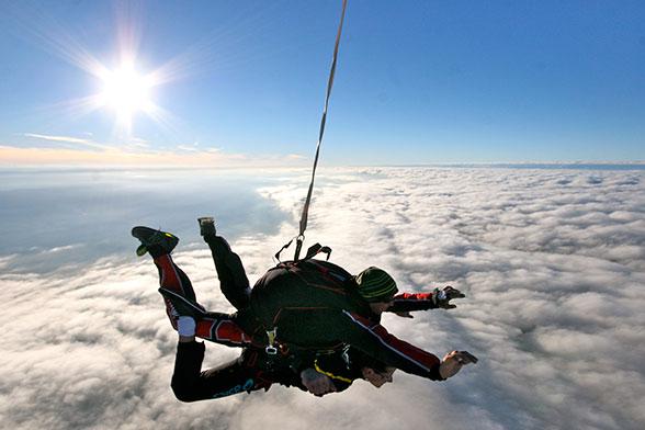 saut en parachute 2 avec loisirs sud ardeche parachute jump skydive